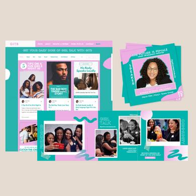 Blog Intergration + Social Media Graphics