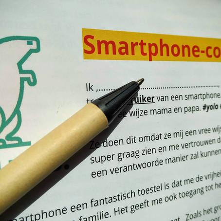 Een smartphonecontract...