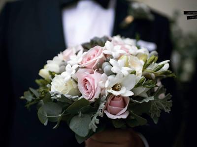 Gianna's bouquet