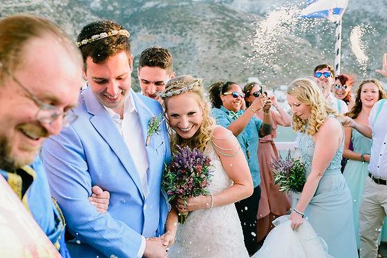 Destination wedding in Sifnos