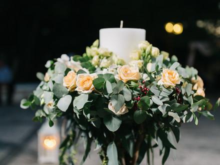 Angeliki's Wedding Candle