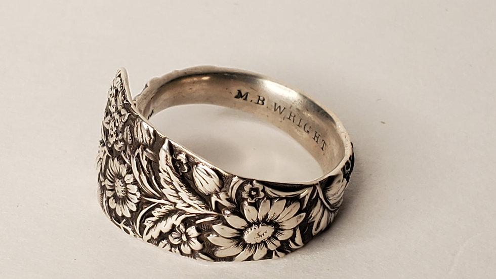 Arlington Demitasse Spoon Ring, Sterling Silver, 1884