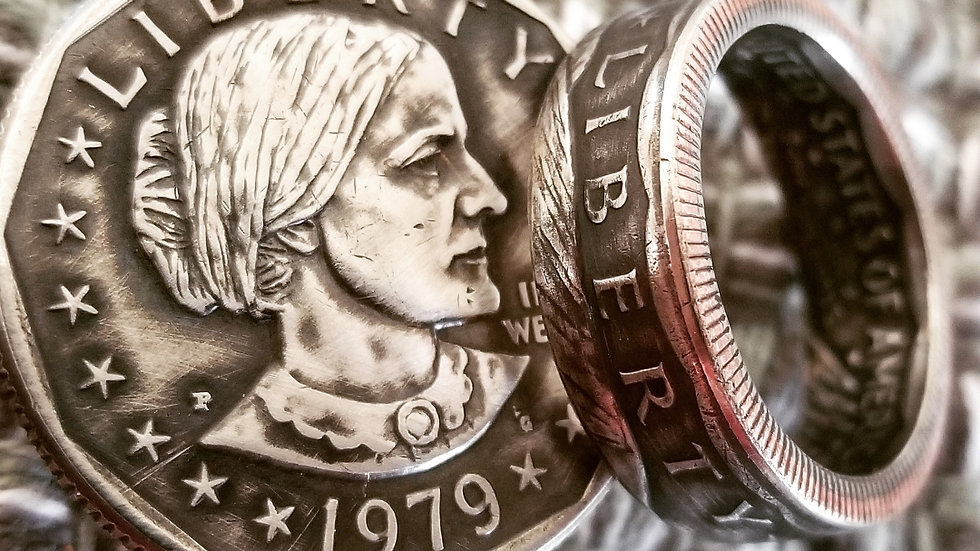 Susan B. Anthony Dollar, Obverse