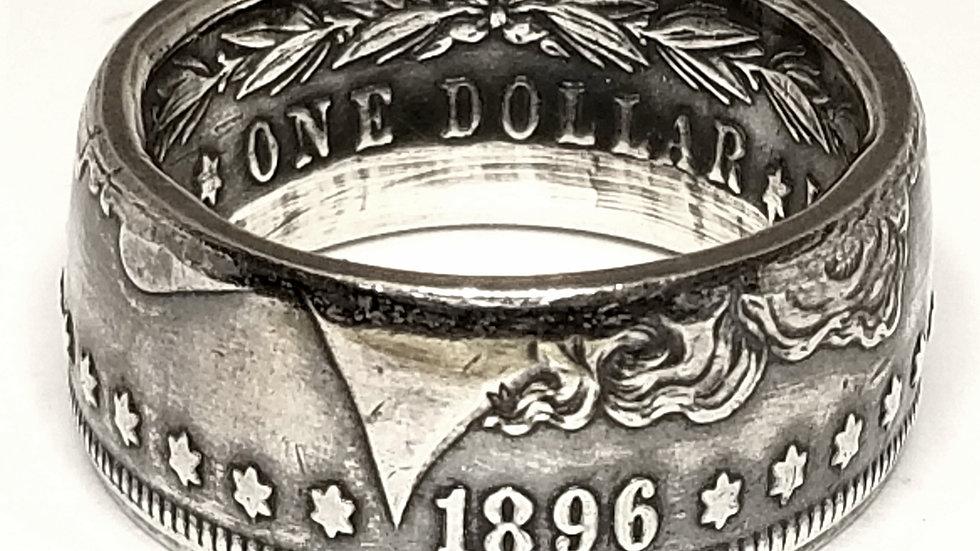 Morgan Silver Dollar Ring Obverse