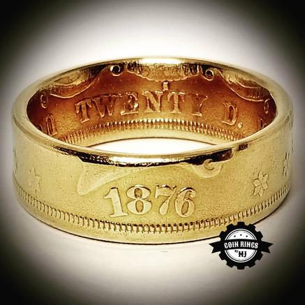 1876 Gold Double Eagle