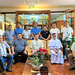 PHILIPPINES | Local Ordinary Graces First Meeting of St. Martin de Porres Chapter