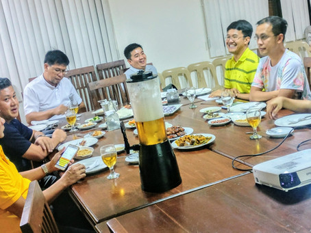 PHILIPPINES   Priests of the Chapter of San Jacinto meet in Tuguegarao City