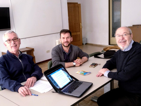 SPAIN | Members of the Fraternity Council meet with the General Promoter