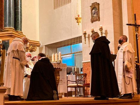 SPAIN | Fraternity in Spain Receives Profession of Two Priests, Admits another Member