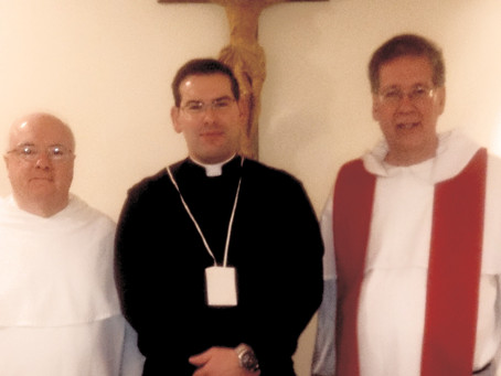 USA   Province of St. Albert the Great receives solemn promise of one Priest