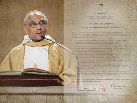 CURIA | Master of the Order Promulgates General Declarations for Priestly Fraternities