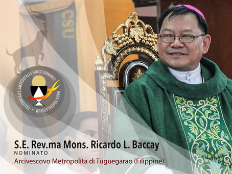 PHILIPPINES | Members of the Fraternity Nominated to Ecclesiastical Offices