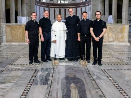 ITALY   Angelicum Fraternity Visits the General Curia of the Order of Preachers