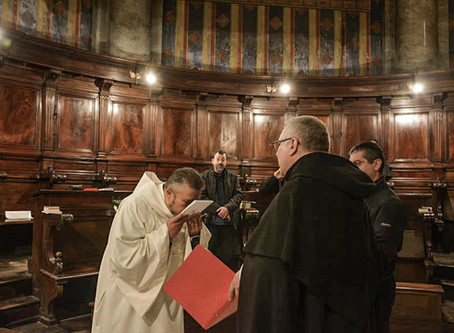 ITALY | Rite of Admission of Don Joseph Alexander de Leon in the Fraternity