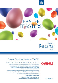 Media Rotana Poster(Easter)