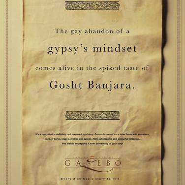 Gazebo AhlanMasala - Gypsy mindset