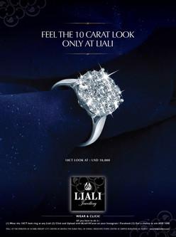 10 Carat Look Ring Ad