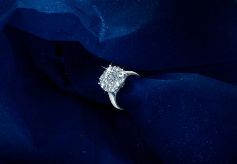 10 Carat look ring - Jewellery Photoshoot
