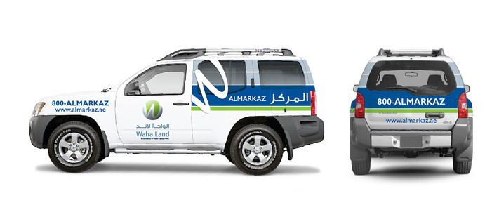 Vehicle Wrap - OPTION 1