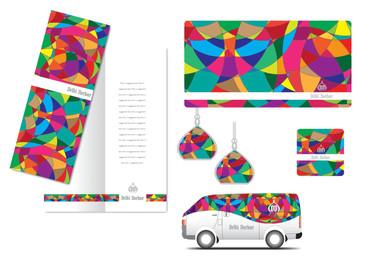 MENU / TISSUE BOX / VAN DESIGN / LAMP / POSTER