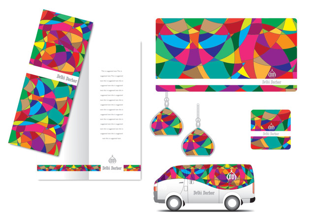 MENU / TISSUE BOX / VAN DESIGN / LAMP / POSTER