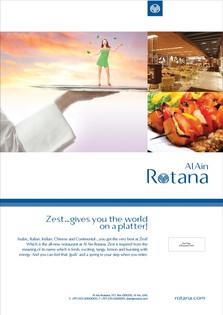 Al Ain Rotana Poster(Ad12)