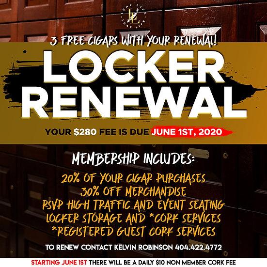 LOCKER RENEWAL 2021-2022