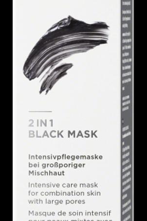 2 in 1 Black Mask