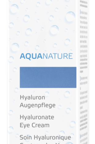 Aquanature Hyaluron Augencreme