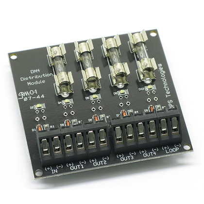 DM4-FUSE   4 Fused Output Distribution Module