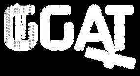 logo GGAT blanc Génie Géomatique pour l'Aménagement du Territoire
