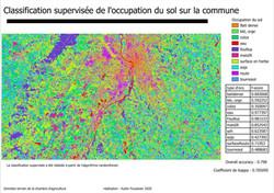 classification supervisée de l'occupation du sol