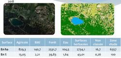 Classification du sol et analyses statistiques