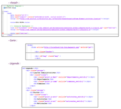 Exemple de script en HTML