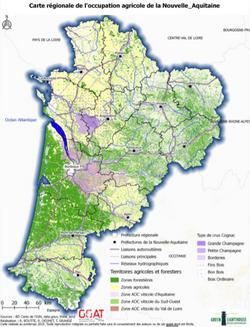 Occupation du sol de la Nouvelle Aquitaine