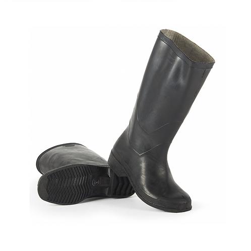 Сапоги формовые резиновые мужские (1 сорт), черный