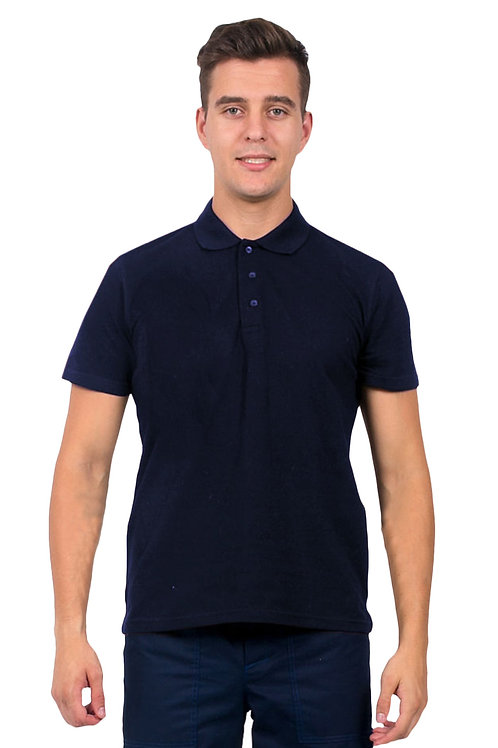Рубашка-Поло (тк.Трикотаж,205), темно-синий