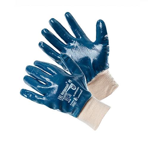 Перчатки АМПАРО™ Нитролайт РП (хлопок/интерлок+нитрил), 448585
