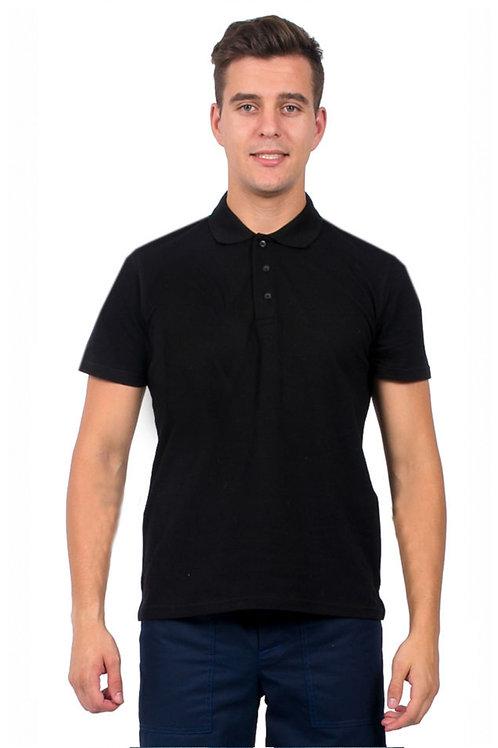Рубашка-Поло (тк.Трикотаж,205), черный