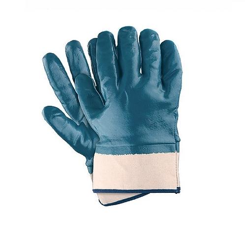 Перчатки нитриловые полный облив манжет крага