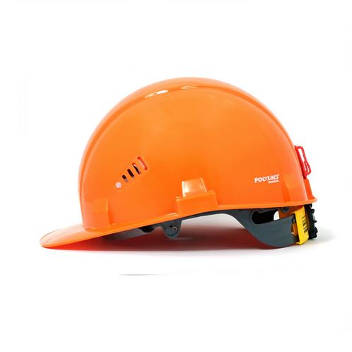 Каска РОСОМЗ™ СОМЗ-55 Фаворит RAPID (с храповиком), оранжевый 75714