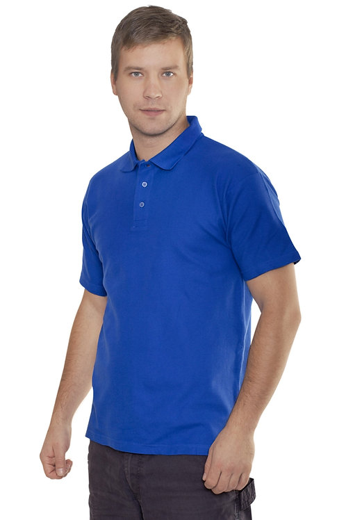 Рубашка-Поло (тк.Трикотаж,205), синий