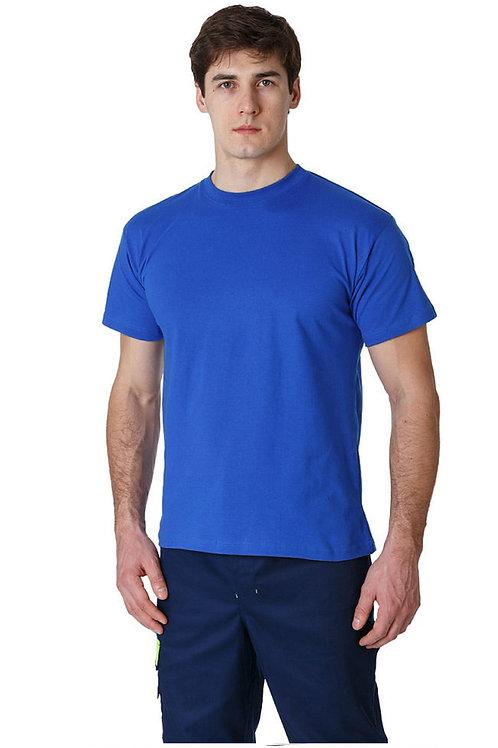 Футболка (тк.Трикотаж,160), синий