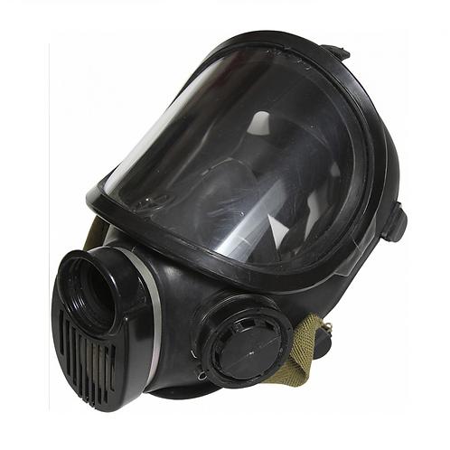 Полнолицевая маска Бриз-4301 (ППМ-88) черная