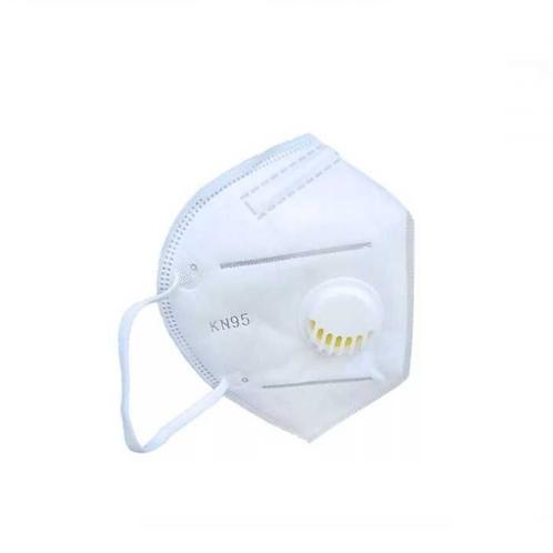 Полумаска фильтрующая KN95 (класс FFP2 R D) с клапаном (20 шт)
