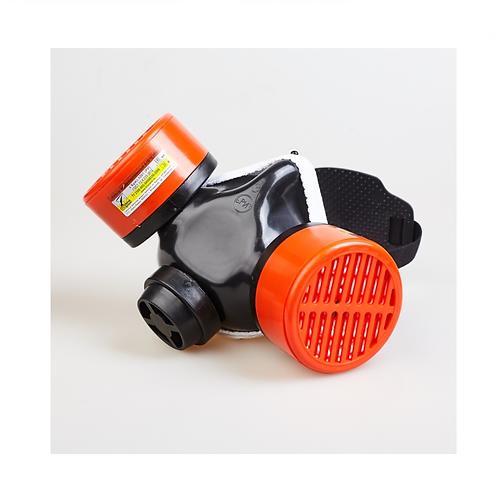 Полумаска Бриз-3201 (РУ) газопылезащитная с фильтром А1В1Е1К1Р1 RD