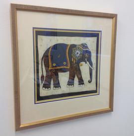 Asian elephant tapestry