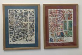 Italian cityscape in oil