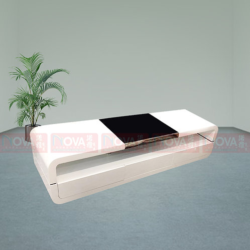 Pearl-TV Console White