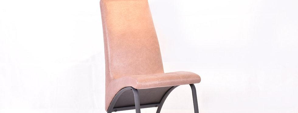 X_DC009 Designer Dining Chair Brown